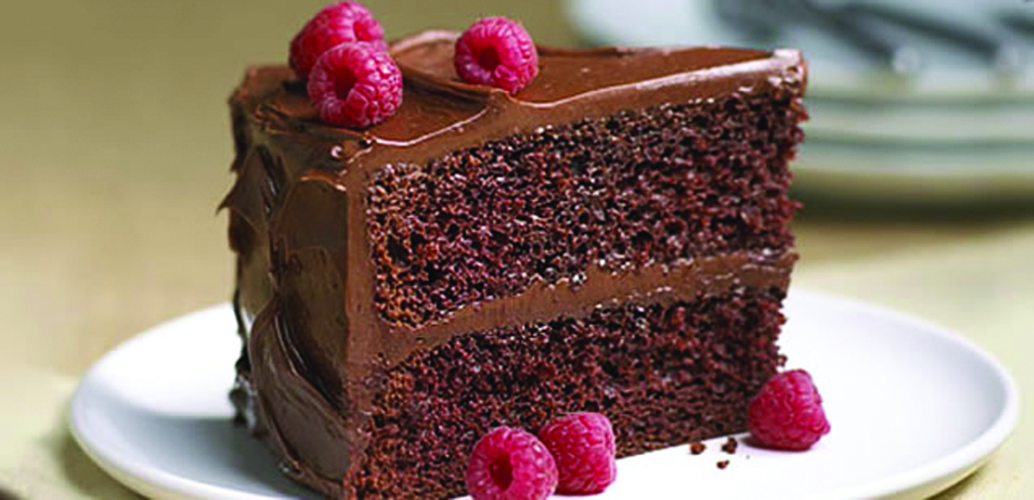 ... delicious meals, like this classic Real Delicious Chocolate Cake