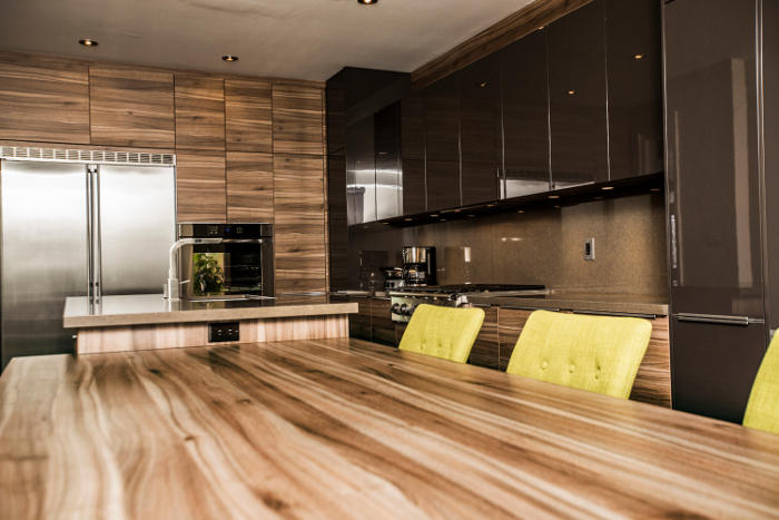 Contemporary Earth Tone Kitchen Home Trends Magazine