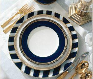RL navy plate