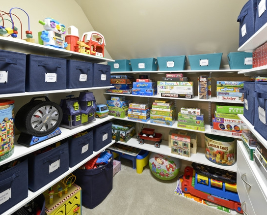 Five tips for organizing your storage areas home trends Closet toy storage ideas