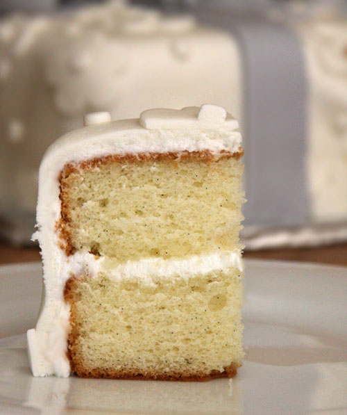 Vanilla Cake With A Secret Ingredient… Instant Pudding