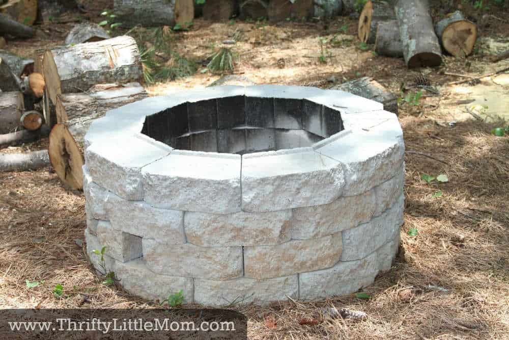 cheap firepit diy