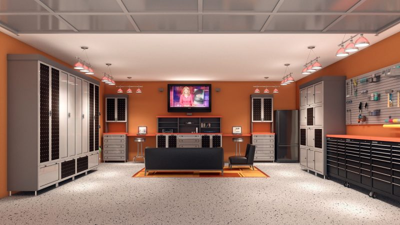 Creating The Ultimate Man Cave In The Garage Home Trends Magazine