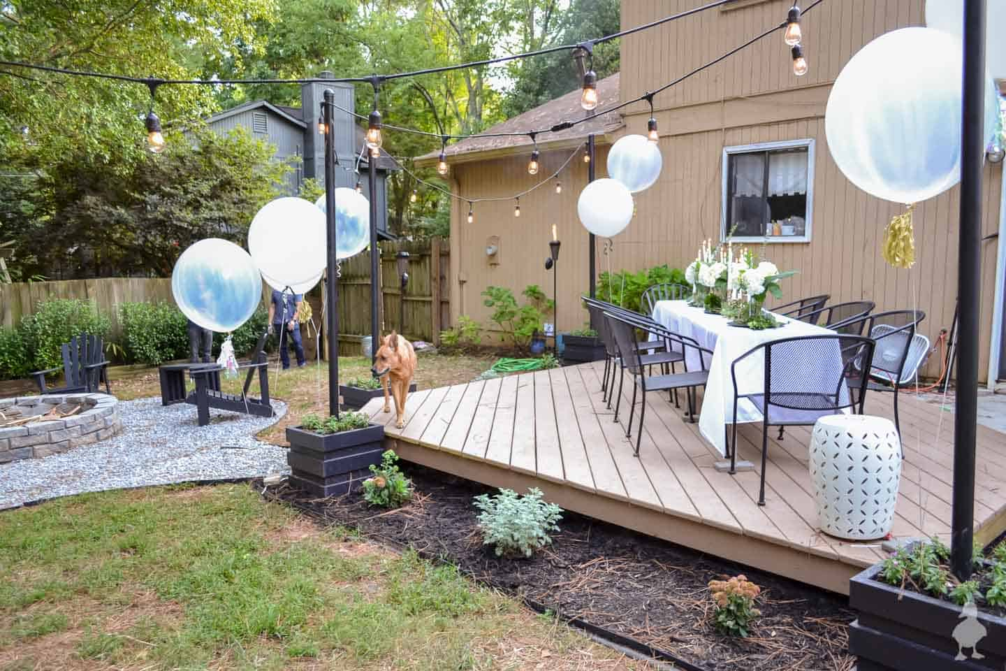 DIY your own deck backyard