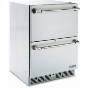 "Shown here: Lynx 24"" Outdoor Refrigerator"