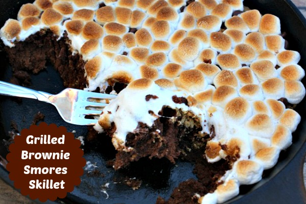 smores brownie