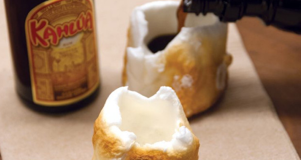 Roasted Marshmallow Shots