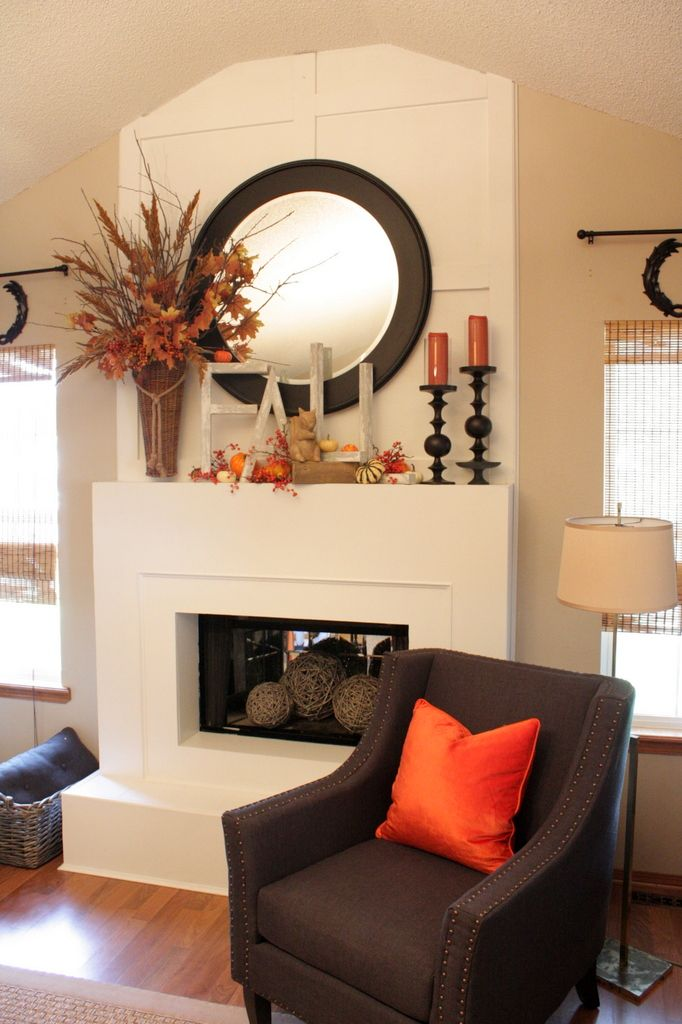 Fall mantel decor ideas home trends magazine Trends magazine home design ideas