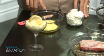 2-Ingredient Lemon Mousse