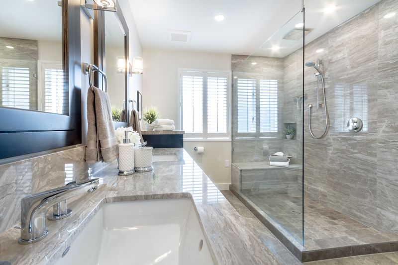 Bathroom Classic Elegance With A Masculine Touch Home Trends