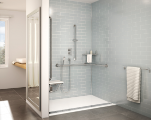 Bathroom Design After: Stylishly Accessible