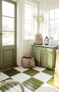 painted-floors-green-painted-floor