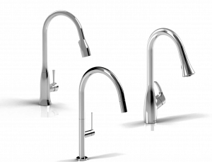 Simply, Elegant Stainless Steel Faucets from Riobel