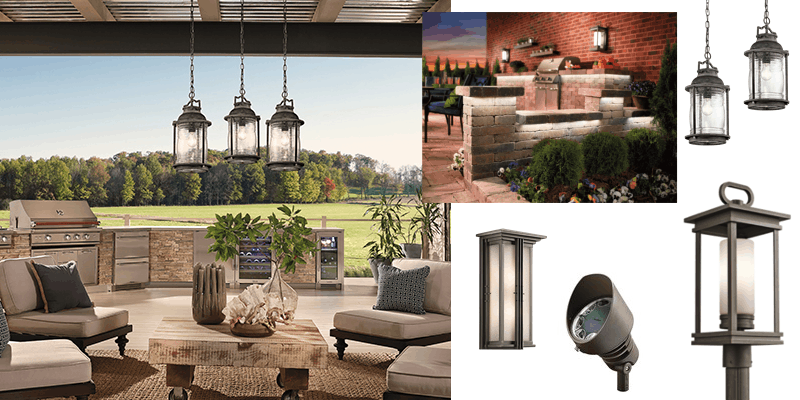 Kichler Outdoor Lighting available from Union Lighting
