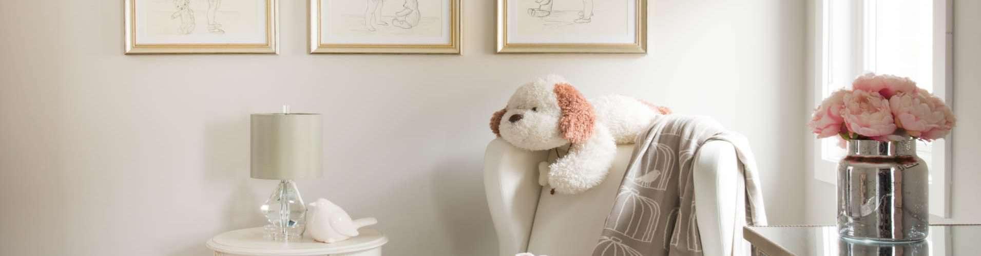 Nursery Design Trends Advice From Celebrity Designer: Designer Space: Pretty In Pink Nursery