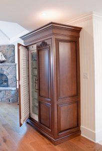Shanahan Liebherr fridge open