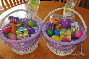 easter basket and creative filler ideas Photo Source: mommybrainreports.com