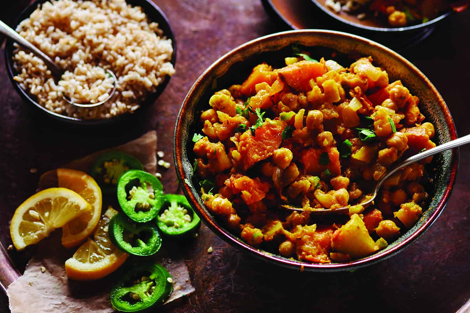 Potato Chana Masala
