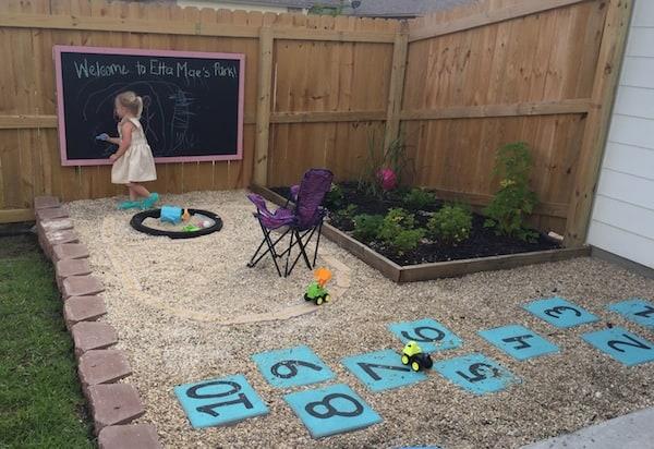 spring kids play area renovation