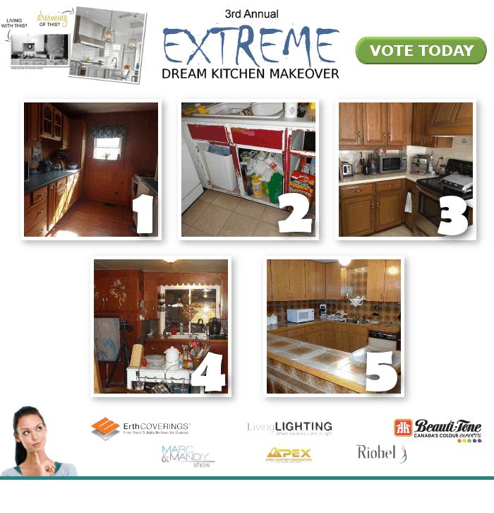 Kitchen Makeover Contest: Extreme Dream Kitchen Makeover