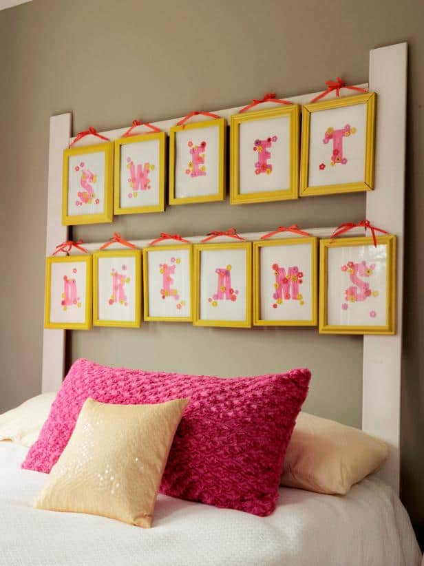 Picture Frame Headboard