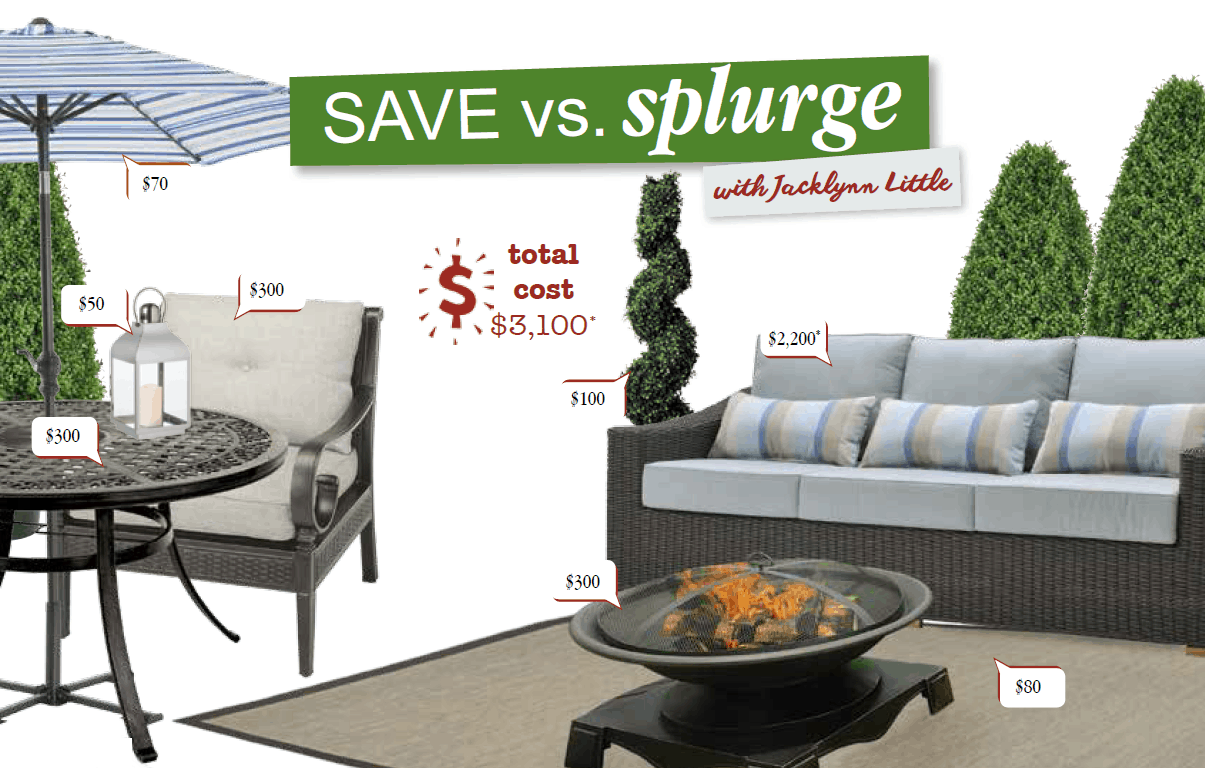 Save Vs Splurge With Jacklynn Little Home Trends Magazine