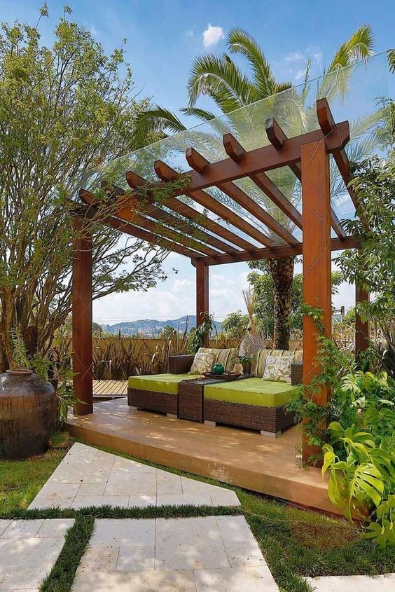 the difference between pergola and arbor