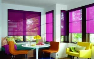 Photo Source: Canadian Home Trends, Colour-blocking for Your Windows