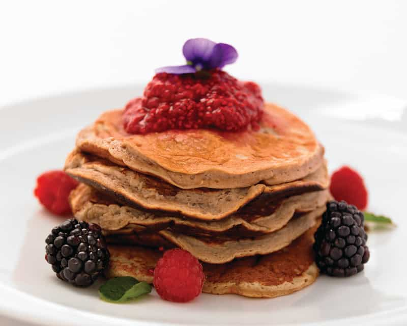 Flourless Pancakes with