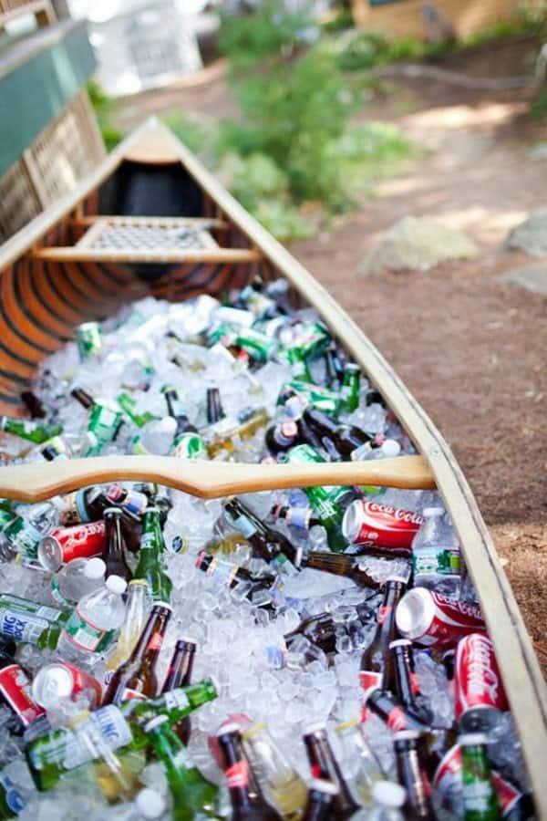 Canoe Drink Holder