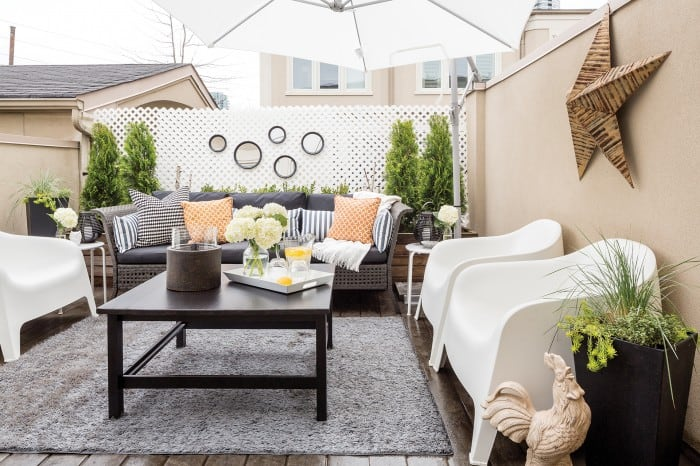 Photo Source: Canadian Home Trends, Creating a Patio in the City