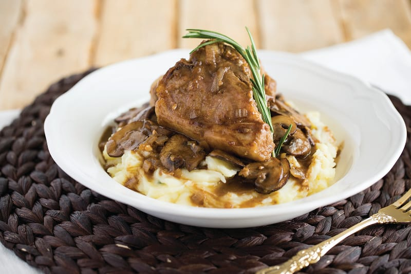 ... loin chops with a fragrant and flavourful Marsala sauce will prove it