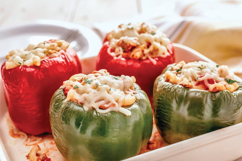 Stuffed Peppers with Glutenfree Macaroni