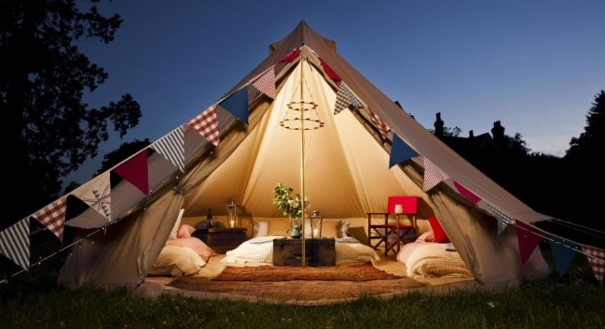 what is glamping home trends magazine