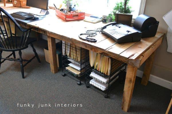 Pallet Desk #7