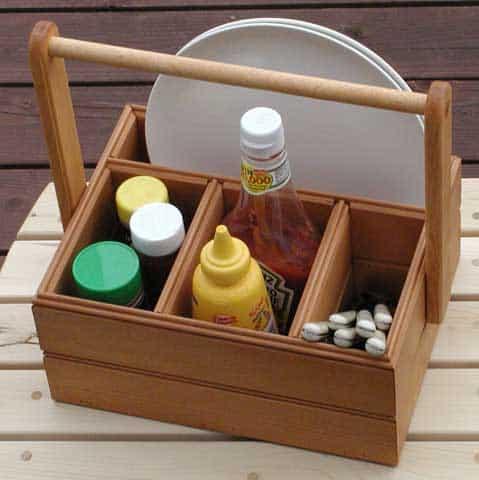 picnic caddy