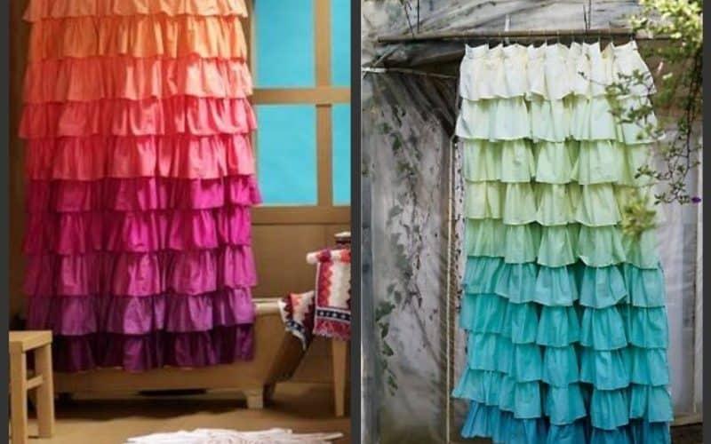 6 Chic DIY Shower Curtain Ideas