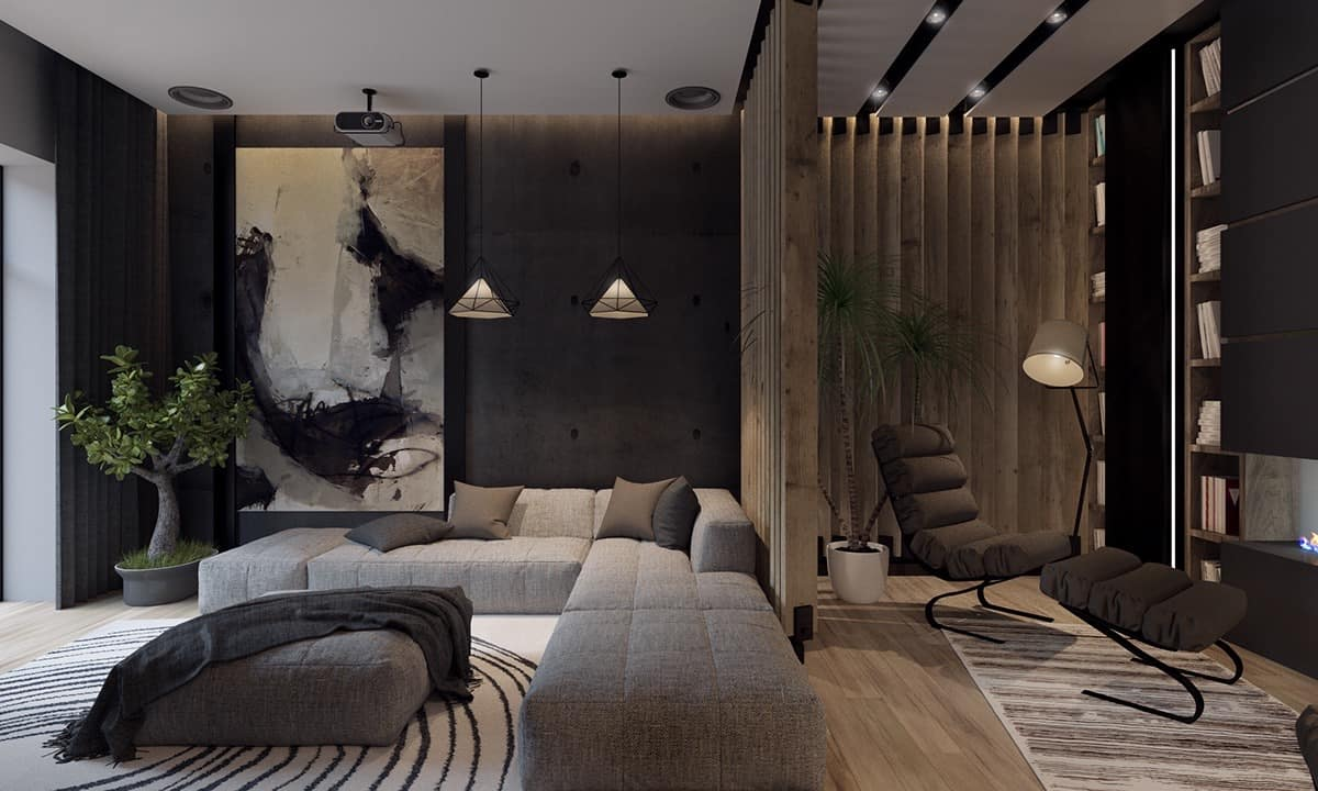 10 Designer Spaces With Black Walls Home Trends Magazine