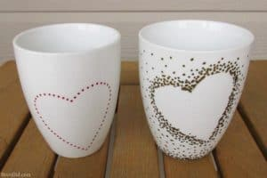 Photo Source: Canadian Home Trends, 6 Clever Sharpie Mug Creations to DIY as Gifts