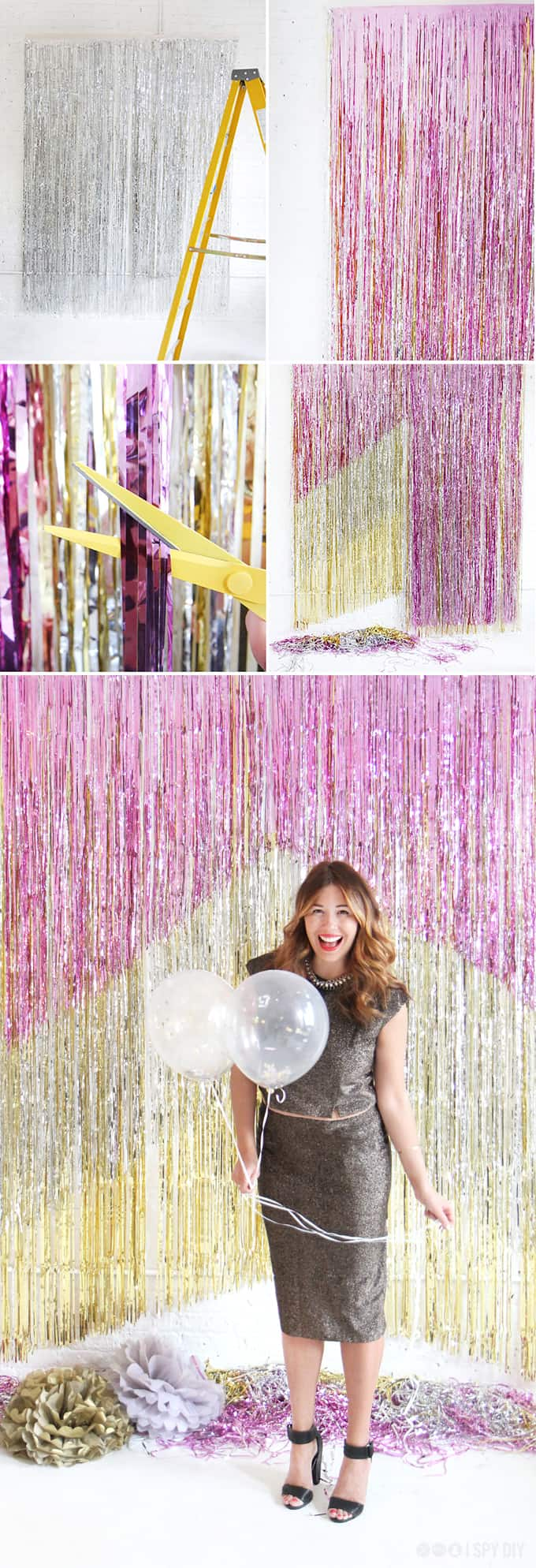 DIY Photo Backdrops For Your NYE Party | Home Trends Magazine