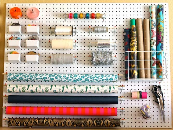 6 Creative Organization Solutions For Your Gift Wrapping