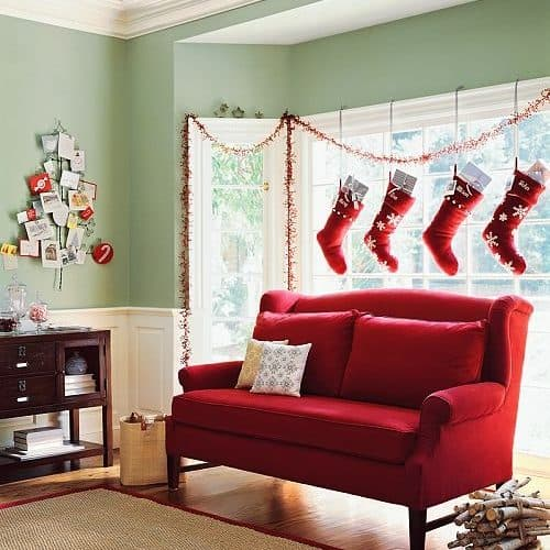 Fashionable All Weather Outdoor Kitchen Ideas One And Only: Creative Places To Hang Your Christmas Stockings