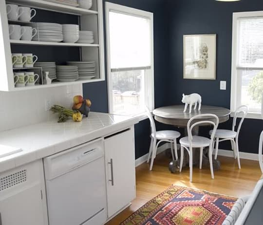 Black Kitchen Cabinets What Color On Wall: 2017 Trend Watch: Navy Blue