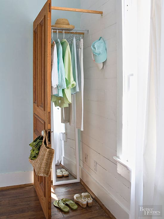 Wonderful 6 Creative Closet Ideas For People Who Donu0027t Have Closets   Home Trends  Magazine