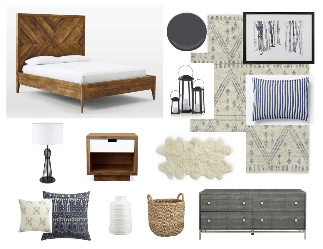 Negar S Rustic Vintage Bedroom Mood Board Home Trends