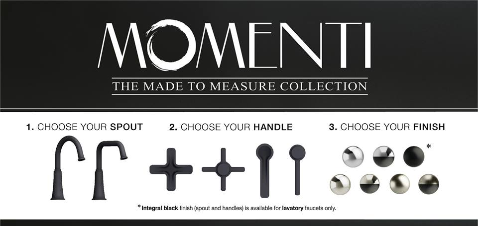 Enter to Win: Custom Made to Measure Momenti Faucet from Riobel ...