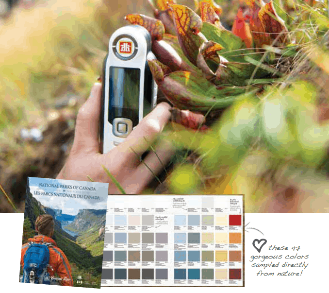 Paint Your Home In Colors Inspired By Canadas National Parks Home