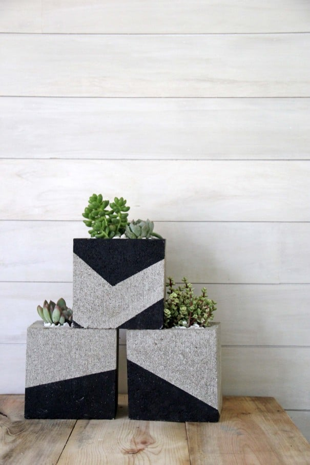 Cinder Block Diys For Your Outdoor Space Home Trends Magazine