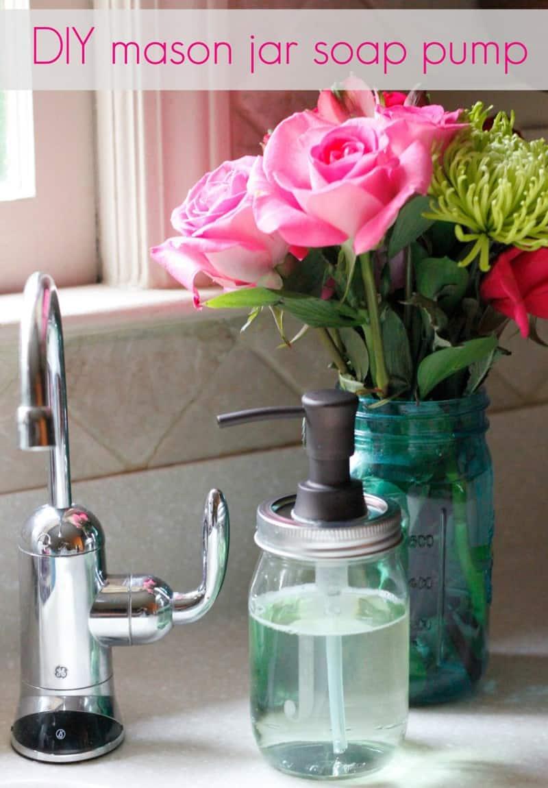 DIY Soap Dispenser Ideas   Home Trends Magazine