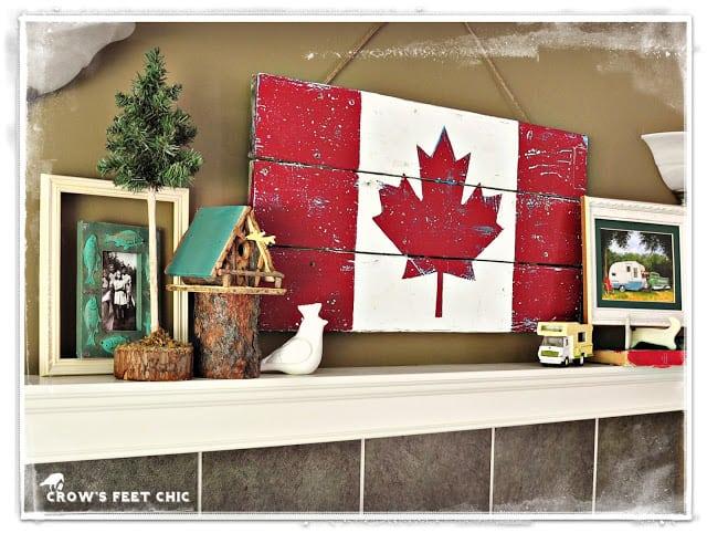 Canada's 150th-inspired DIY Decor Ideas